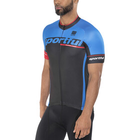 Sportful SC Team Jersey Herren black/electric blue